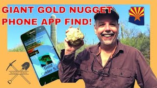 Giant Gold Nugget Found With Phone App!?!? screenshot 1