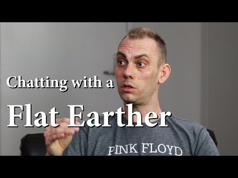 Chatting with a Flat Earther