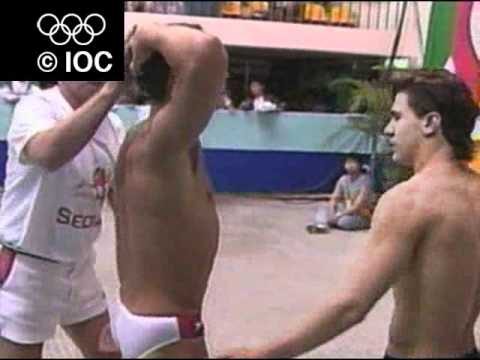 Seoul 1988 Diving men 10m platform, Diving men 3m springboard - Greg Louganis