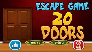 Escape Game 20 Doors walkthrough 5NGames.