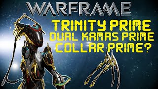 Warframe - Trinity Prime Drop Locations (OUTDATED)