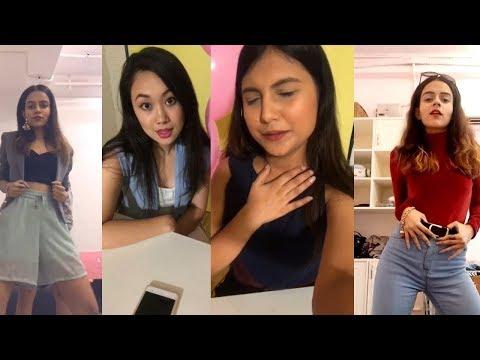 Popxo Team Musically   Komal, Shraddha and Cherry