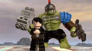 LEGO Marvel Super Heroes 2 - Bruce Banner (Hulk/Thor: Ragnarok) - Open World Free Roam Gameplay HD