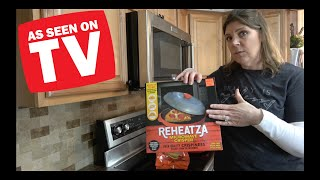 As Seen On TV - Reheatza Product Trial   Does This Crisp As Advertised?