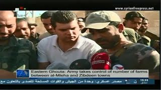 Syria News 28/8/2014, Army destroyed ISIS dens in Mouhessen town in Deir Ezzor countryside