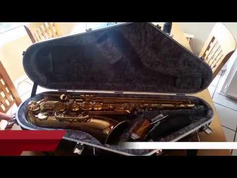 Hiscox Artist Tenor Saxophone Case