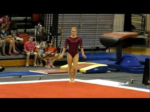 Nebraska Gymnastics vrs Iowa State.MP4