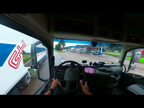 A kamionos 1 napja és az  új Volvo
