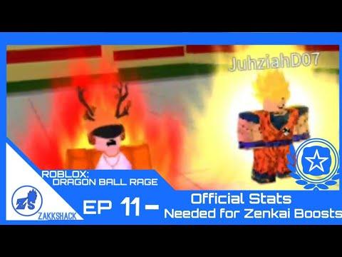 13e6f668271e4a ROBLOX  Dragon Ball Rage Ep. 11- Official Stats Needed for Zenkai Boost