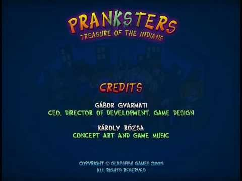 Pranksters Treasure of the Indians Credits