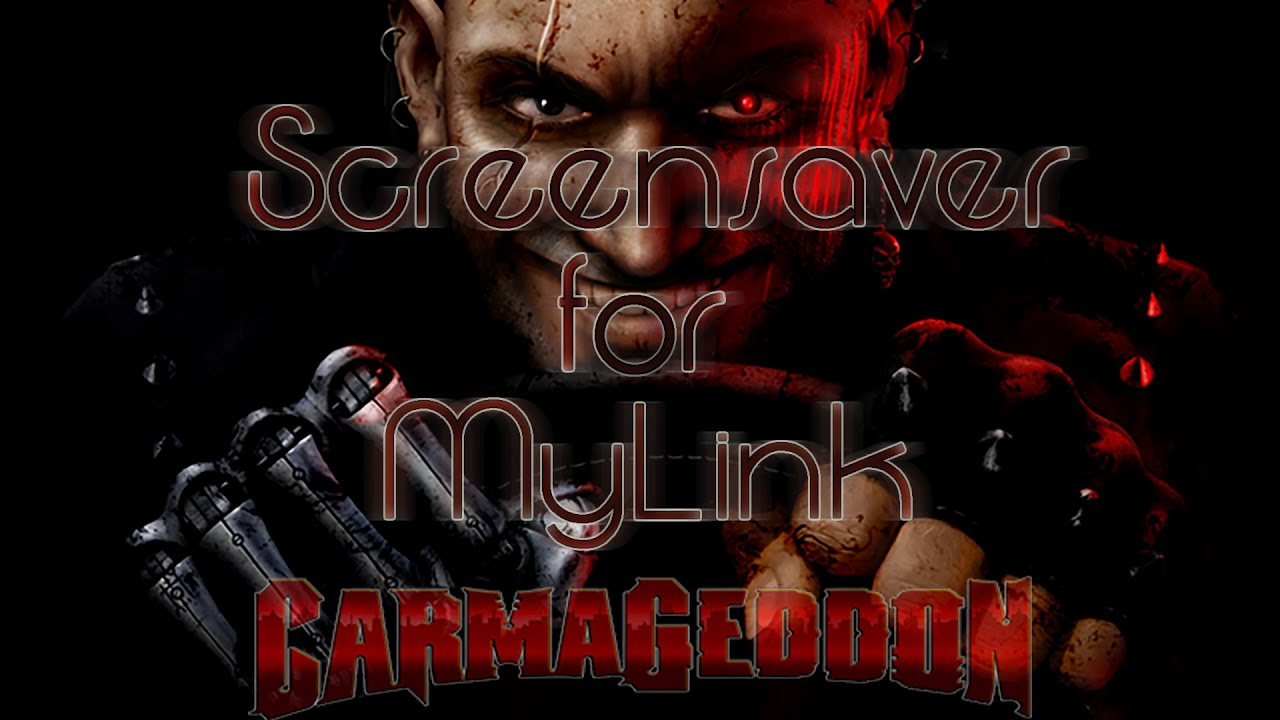 carmageddon screensaver in mylink (chevrolet) - youtube