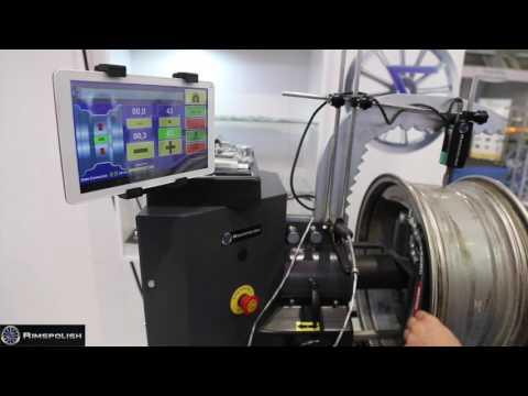 Nitromac Rim Repair Machine