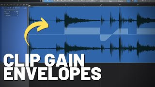 How Clip Gain Envelopes Work in #StudioOne
