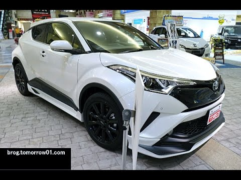 toyota c hr trd customized parts white youtube. Black Bedroom Furniture Sets. Home Design Ideas