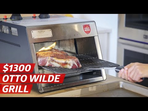 Do You Need the $1300 Otto Wilde Steak Grill? — The Kitchen Gadget Test Show