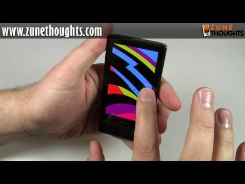 UNBOXING: Zune HD (16 GB, black)
