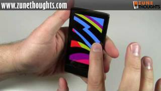 UNBOXING: Zune HD (16 GB, black)