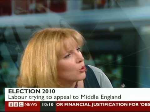 Alan Johnson interviewed on BBC News 13 April 2010