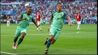 HUNGARY 3-3 PORTUGAL RONALDO MAKES HISTORY IN INCREDIBLE DRAW