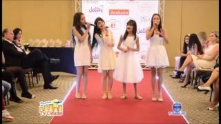 Little Singers - We Are The World   Desfile Caras e Talentos