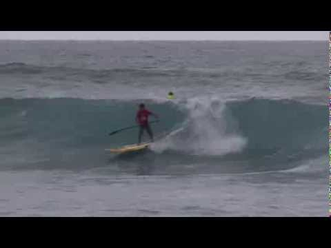 Turtle Bay Women's Pro - SUP Surf contest from the North Shore of Oahu