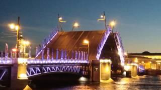 Санкт-Петербург,развод мостов 2017
