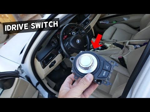 HOW TO REMOVE AND REPLACE NAVIGATION IDRIVE SWITCH ON BMW E90 E91 E92 E93