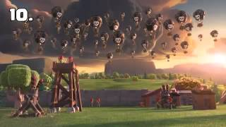 """Animation of clash of clans ,Animación de clash of clans"""