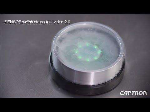 CAPTRON SENSORswitch stress test video 2.0 (english)