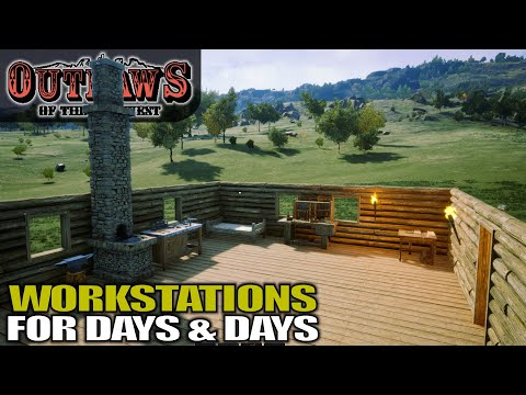 YOU WON'T BELIEVE HOW MUCH STUFF YOU CAN BUILD | Outlaws Of The Old West | Gameplay | S01E03
