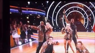 Dancing with the stars (the men team dance)