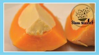 Coconut Custard In Butternut Squash Dessert Recipe
