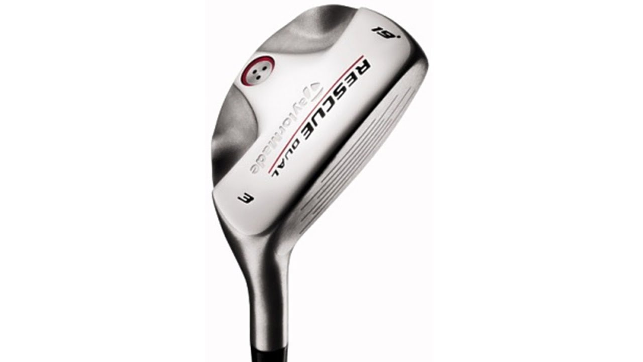 taylormade rescue dual hybrid golf club test and review. Black Bedroom Furniture Sets. Home Design Ideas