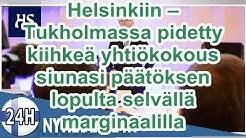Nordea muuttaa Helsinkiin – Tukholmassa pidetty kiihkeä yhtiökokous siunasi päätöksen lopulta selvä