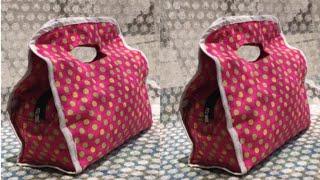 नए डिज़ाइन का बैग बनाना ज़रूर सीखें ll market bag ll shopping bag ll lunch bag ll shoulder bag