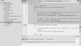 Xamarin Cross Platform: PCL and Razor Tutorial Video: Razor Templating