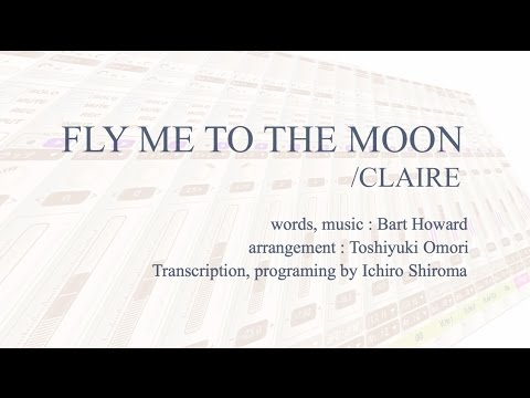 FLY ME TO THE MOON / CLAIRE - Karaoke - 新世紀エヴァンゲリオン