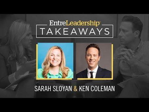 Core Values Inspired Leadership | Sarah Sloyan | EntreLeadership Takeaways
