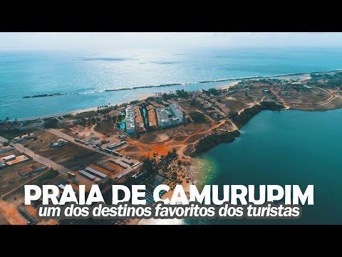 Praia de Camurupim - Um dos destinos favoritos dos turistas - Viagem RN - Parte 4