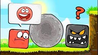 КВАДРАТНЫЙ КРАСНЫЙ ШАР против ЧЁРНОГО КВАДРАТА ! Несносный Шарик Red Ball 4 Новый Мультик для детей