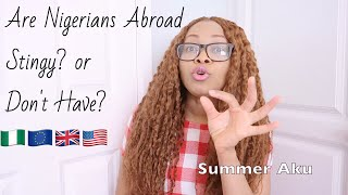 quotNigerians Abroad Are Stingy To Their Familiesquot  Nigerian Cught With 70M
