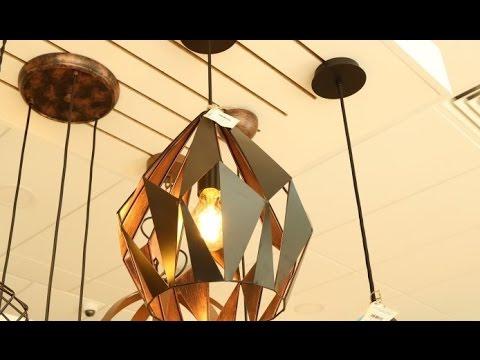 Какие светильники лучше для натяжного потолка - YouTube
