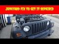 Shitshow Jeep Junkyard Fixing