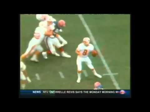 Buccaneers Vs. Bills- Steve Young Tip Drill Pass