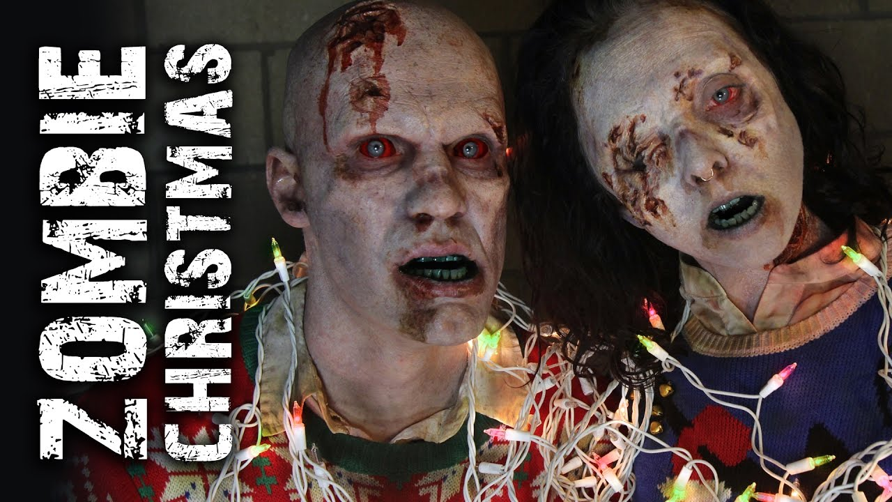 ZOMBIE Christmas Cards! - YouTube