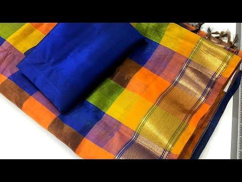 Silk Saree Blouse Design And Stylish Blouse Back Neck Design Youtube