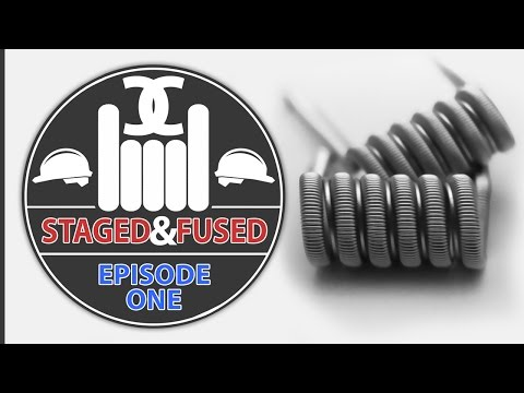 DIY Dual Core Fused Staged Clapton Coil Build Tutorial | Coil Complex Series | Flavor Build