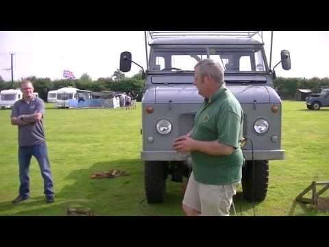 An Introduction to Winching with Series Land Rovers