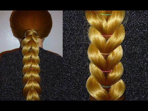 Zopf Frisur zum selber machen für mittel/langes Haar.Frisuren für die Schule.Braid Hairstyle.Penados