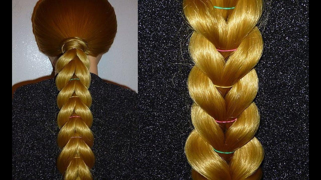 Zopf Frisur Zum Selber Machen Für Mittel Langes Haar Frisuren Für